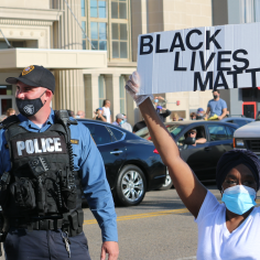 Scenes from the George Floyd Protests in Asbury Park, New Jersey - June 1, 2020
